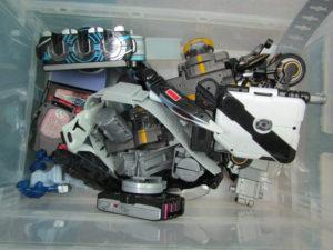 東京のお客様から仮面ライダーのおもちゃを買取させていただきました。