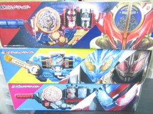 東京のお客様から仮面ライダービルドの玩具を買取させて頂きました。