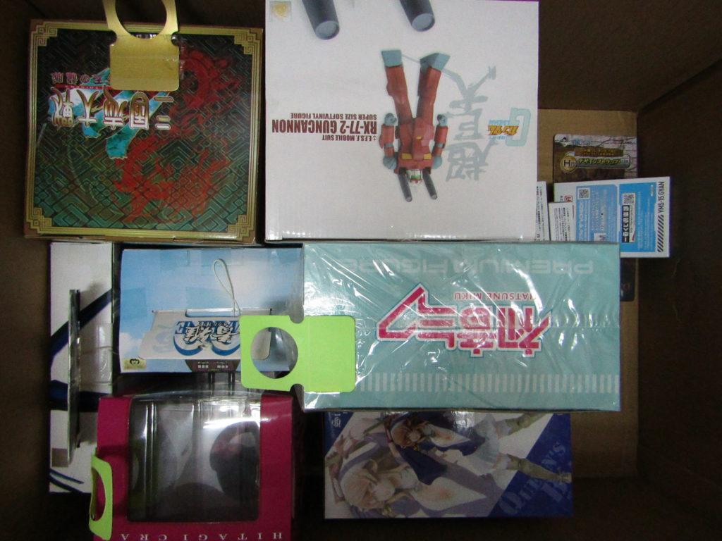 宅配買取 アミーボやプライズフィギュアを大量買取しました。